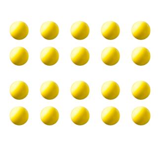 Balles jaunes classiques